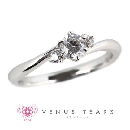 【VENUS TEARS(ヴィーナスティアーズ)】0.2ctダイヤ込価格Pt900【SS738-02】
