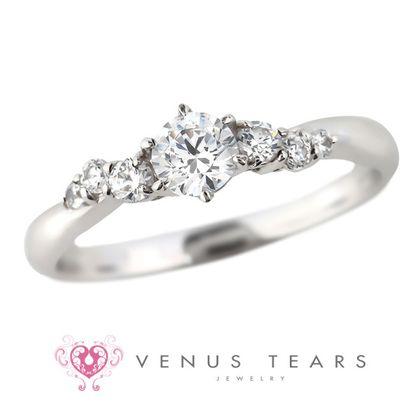 【VENUS TEARS(ヴィーナスティアーズ)】0.3ctダイヤ込価格Pt900【P917-03】