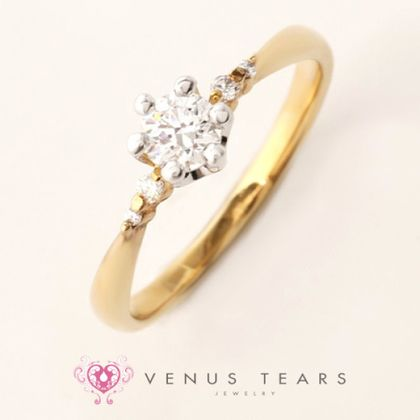 【VENUS TEARS(ヴィーナスティアーズ)】0.3ctダイヤ込価格K18YG【CKNEWSSE18-03】