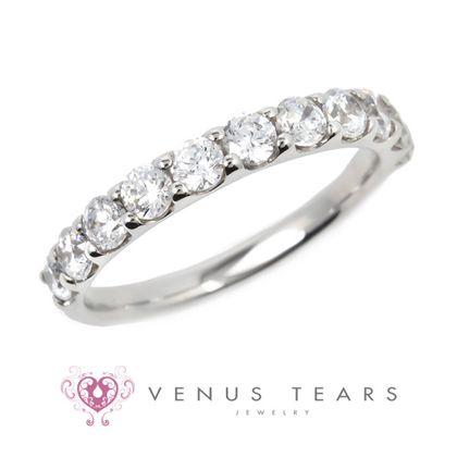 【VENUS TEARS(ヴィーナスティアーズ)】1ctダイヤ込価格Pt900【RV1708-10】