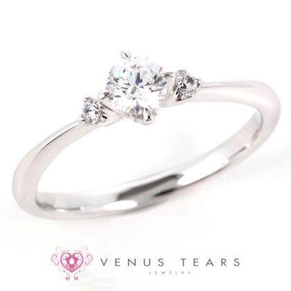 【VENUS TEARS(ヴィーナスティアーズ)】0.3ctダイヤ込価格Pt900【LCE17-03】