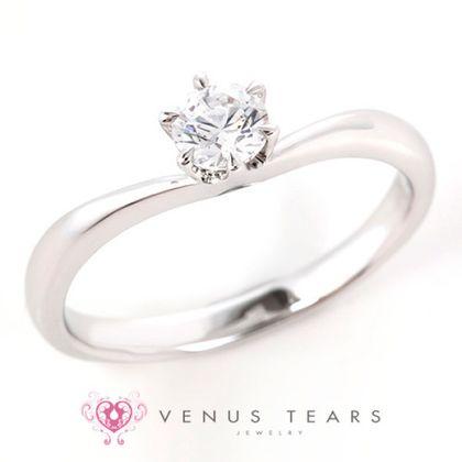 【VENUS TEARS(ヴィーナスティアーズ)】0.3ctダイヤ込価格Pt900【P732-03】