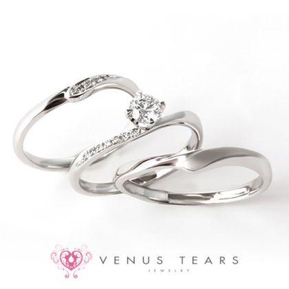 【VENUS TEARS(ヴィーナスティアーズ)】3本セット税込298000円【402】0.3ct Fカラー VS2 EXカット