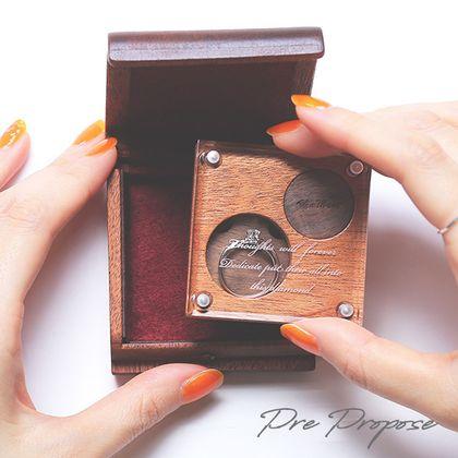 【宝石工房ヴァンモア】ダイヤモンドプロポーズケースでプレ・プロポーズ