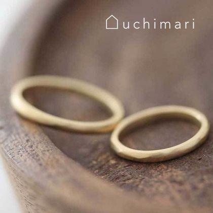 【uchimari(ウチマリ)】優しい雰囲気の結婚指輪
