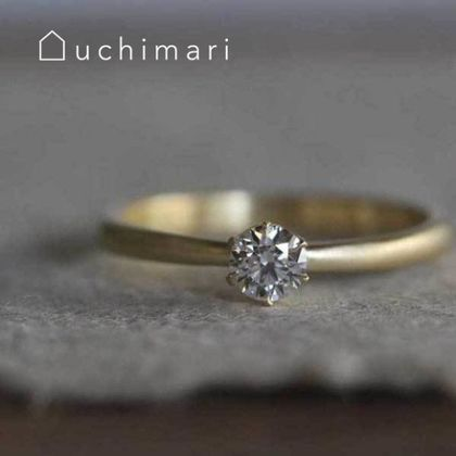 【uchimari(ウチマリ)】アンティークな雰囲気のエンゲージリング