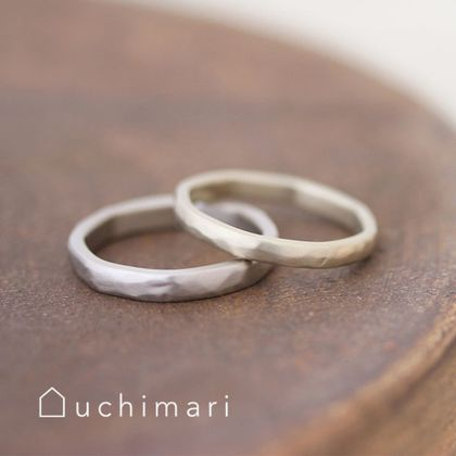 【uchimari(ウチマリ)】優しい空気をまとった結婚指輪