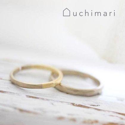 【uchimari(ウチマリ)】ぽこぽこコンビの結婚指輪