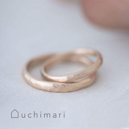 【uchimari(ウチマリ)】好きな仕上げを選べる結婚指輪