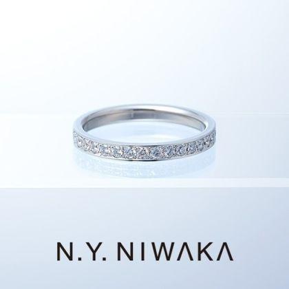 【N.Y.NIWAKA(ニューヨークニワカ)】FAITH YF01PtG/Pt