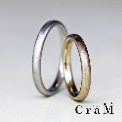 【atelier CraM(アトリエ クラム)】Ellipse Small(エリプス スモール)/ 迷ったらコレ!着ける人を選ばないシンプルでベーシックなマリッジリング【カスタムオーダー】