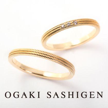 【OGAKI SASHIGEN(大垣さし源)】ミルグレイン