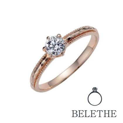 【Bridal Jewelry Fujita(ブライダルジュエリーフジタ)】 「ROSE ロゼ」エンゲージリング