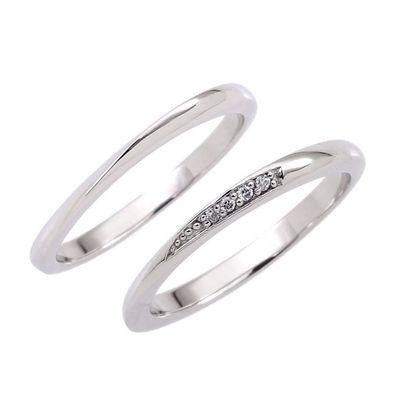 【Bridal Jewelry Fujita(ブライダルジュエリーフジタ)】MILTONIA [ミルトニア] ペア10万円リングシリーズ