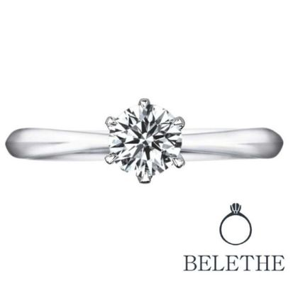 【Bridal Jewelry Fujita(ブライダルジュエリーフジタ)】【大粒ダイヤモンド】0.5カラット以上 「AXIA アクシア」エンゲージリング