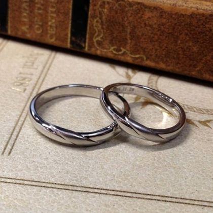 【指輪工房 KELLCH ケルヒ】【ケルヒ】結婚指輪手作りプラン「ワックスコース」作品