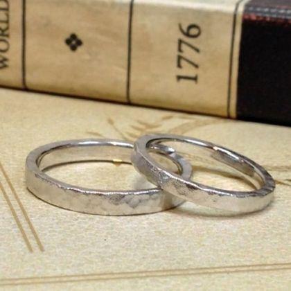 【指輪工房 KELLCH ケルヒ】【ケルヒ】結婚指輪手作りプラン「鍛造コース」