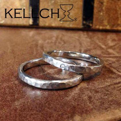 【指輪工房 ケルヒ  KELLCH】【ケルヒ】結婚指輪手作りプラン「鍛造コース」作品