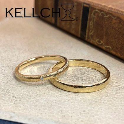 【指輪工房 ケルヒ  KELLCH】【ケルヒ】rocher round(ロシェ・ラウンド)鍛造