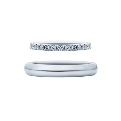 【EIKA(エイカ)】エタニティ/MC1037 - MC1002/PT950/マスター 結婚指輪 EIKA