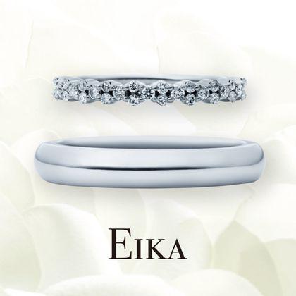【EIKA(エイカ)】エタニティ/MC1043 - MC1002/PT950/マスター|結婚指輪|EIKA