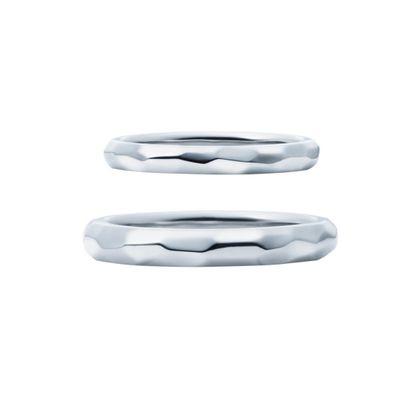 【EIKA(エイカ)】スペシャリティ/MC1052 - MC1053/グロス加工/PT950/マスター 結婚指輪 EIKA