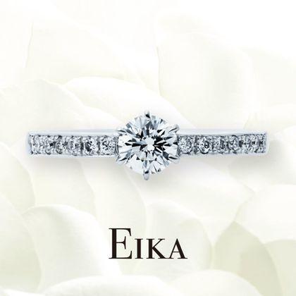 【EIKA(エイカ)】エタニティ/EC1002/PT950/マスター|婚約指輪|EIKA