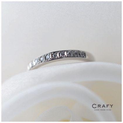 【CRAFY(クラフィ)】☆サプライズプロポーズ☆婚約指輪 PT900 エタニティ