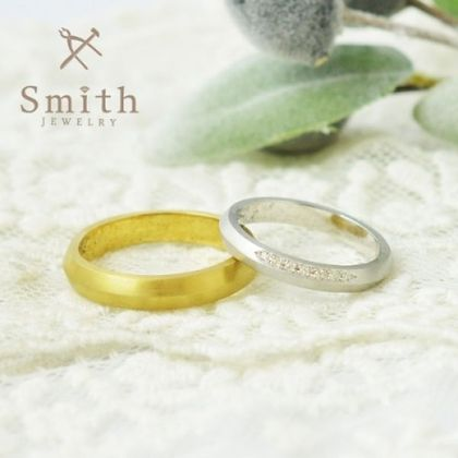 【Smith(工房スミス)】オーダーメイド婚約指輪