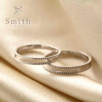 【Smith(工房スミス)】セミオーダーマリッジリング