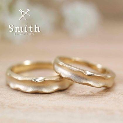 【Smith(工房スミス)】セミオーダー結婚指輪