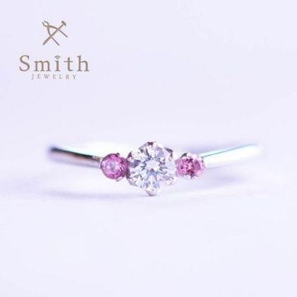 【Smith(工房スミス)】手作り婚約指輪