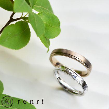 【renri(レンリ)】【手作り・オーダーメイド】氷のように鋭く煌めく独特のテクスチャーがポイントのデザイン