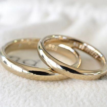 【湘南彫金工房 andfuse】こう丸の結婚指輪【手作り結婚指輪デザインワックス】