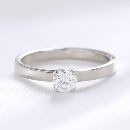 【湘南彫金工房 andfuse】【手作り婚約指輪コース】4本爪の婚約指輪