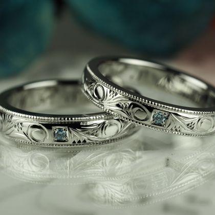 【Antille(アンティール)】オーダーメイド結婚指輪(ステンレス)