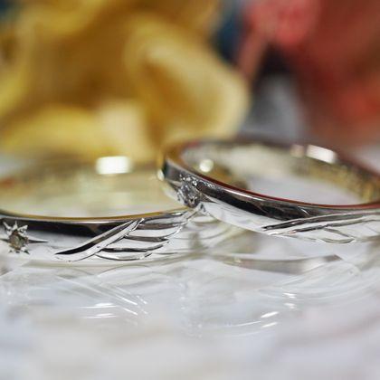 【Antille(アンティール)】オーダーメイド結婚指輪(シルバー)