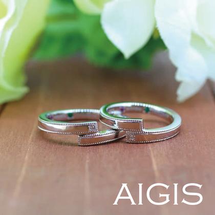 【AIGIS(旧:Jewel HAMA(ジュエルはま))】【NEW】手作り結婚指輪-44