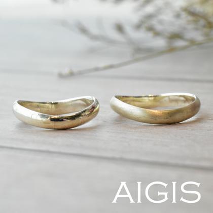 【AIGIS(旧:Jewel HAMA(ジュエルはま))】【NEW】鍛造マリッジリング-32