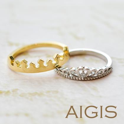 【AIGIS(旧:Jewel HAMA(ジュエルはま))】【NEW】オーダーメイドマリッジリング-29