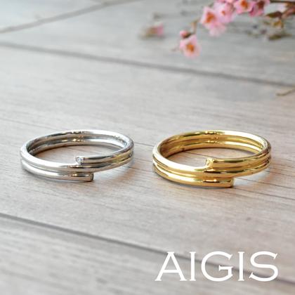 【AIGIS(旧:Jewel HAMA(ジュエルはま))】オーダーメイド結婚指輪