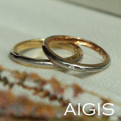 【AIGIS(旧:Jewel HAMA(ジュエルはま))】【NEW】オーダーメイドマリッジリング-37
