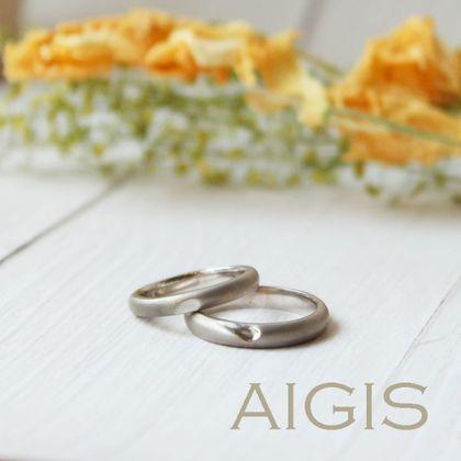 【AIGIS(旧:Jewel HAMA(ジュエルはま))】【NEW】手作り結婚指輪 ハートマリッジ4