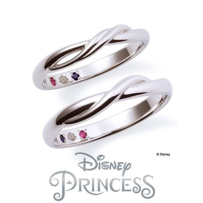 【Weliana(ウェリアナ)】ariel / Disneyプリンセスブライダル マリッジリング Ariel