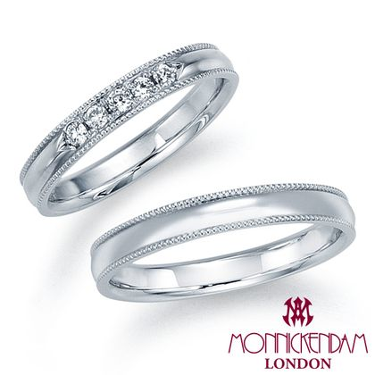 【シャルクレール】モニッケンダム結婚指輪 12WR17 12WR18