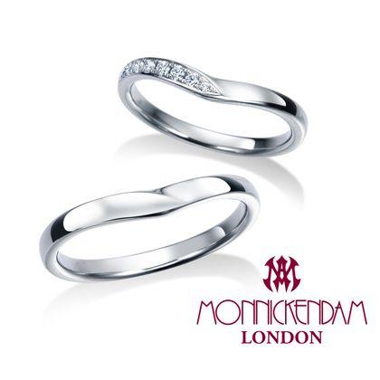 【シャルクレール】モニッケンダム結婚指輪 17WR39 17WR40