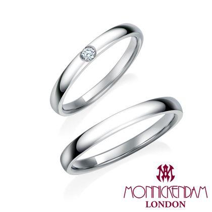【シャルクレール】モニッケンダム鍛造製法 結婚指輪 19WR59 19WR60