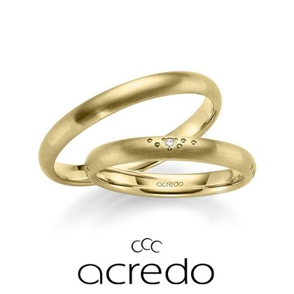 【acredo(アクレード)】ダイヤセッティング以外でもアレンジ次第で自分だけのデザインに