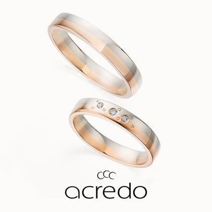 【acredo(アクレード)】【twinkle,twinkle,little star】ダイヤモンドと円の模様が神秘的な雰囲気を醸し出すデザイン