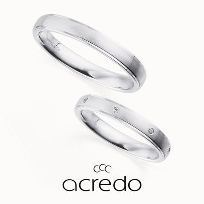【acredo(アクレード)】【Planet】一定間隔で留めたダイヤが宇宙空間に存在する惑星を表現